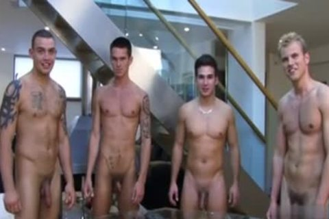 Muscle homo Rimjob And cumshot