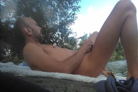 Full movie With Xavier Desmadryl Masturbating outdoors.
